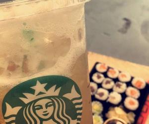 ice tea, starbucks, and zitrone image