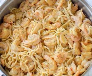 pasta and shrimp image