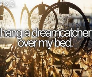 dreamcatcher and bucket list image