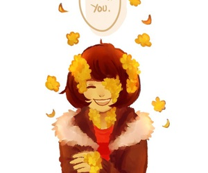 frisk and flowerfell image