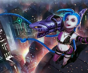 gameplay, league of legends, and jinx image