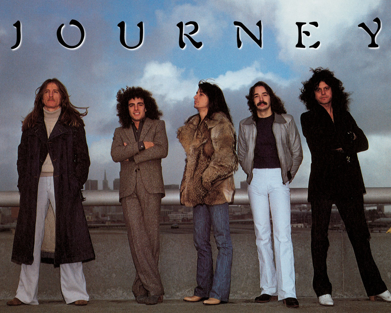 don't stop believin', journey, and steve perry image