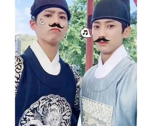 jinyoung, love in the moonlight, and park bo gum image