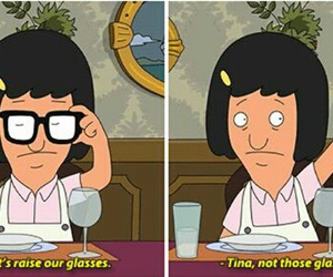 funny, glasses, and tina image