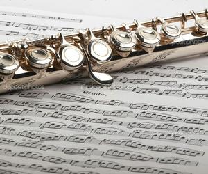 art, beautiful, and flute image
