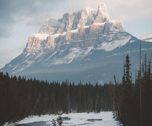 mountain, clouds, and nature image