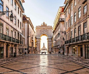 city, lisbon, and places image