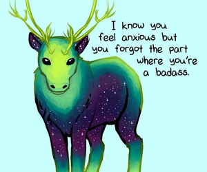 badass, quotes, and anxiety image