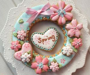 spring, cake, and Cookies image