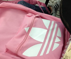 adidas, pink, and school image
