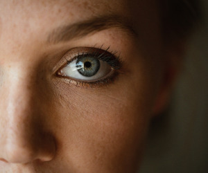 photography, eyes, and freckles image