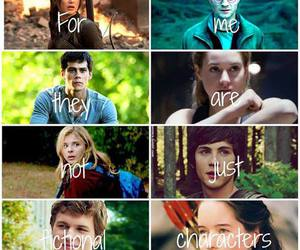 harry potter, the hunger games, and percy jackson image