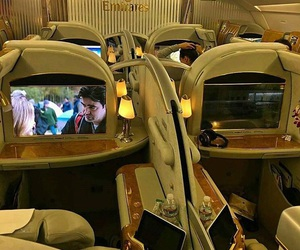 emirates and first class image