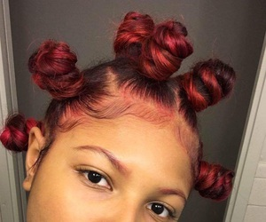 bantu knots, hair, and hairstyle image