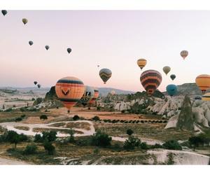 air balloon, beautiful, and istanbul image