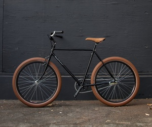 bicycle and brown image