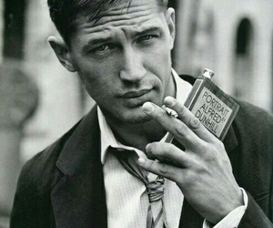tom hardy, Hot, and black and white image