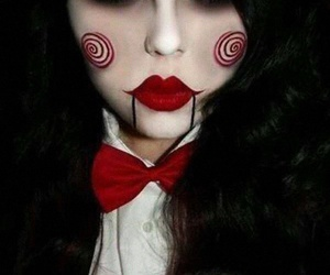 ideas, maquillaje, and ️️hallowen image