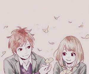 orange, anime, and suwa image