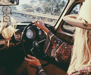 car, boho, and inspiration image