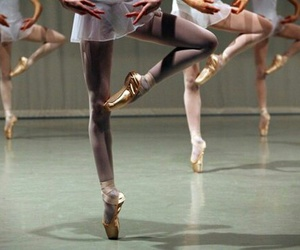 ballet, pointe, and girls image