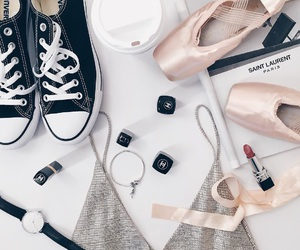 shoes, ballet, and chanel image