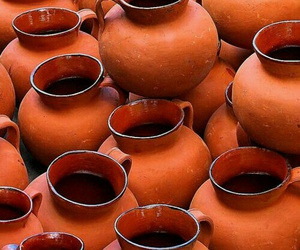 orange and pottery image
