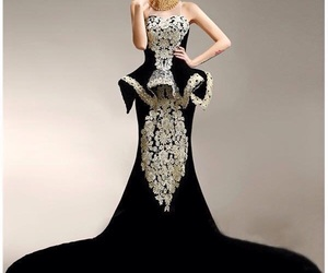 black, Prom, and cute image