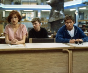 Anthony Michael Hall, emilio estevez, and Molly Ringwald image