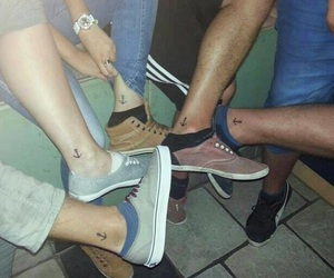 boys, foot, and friends image