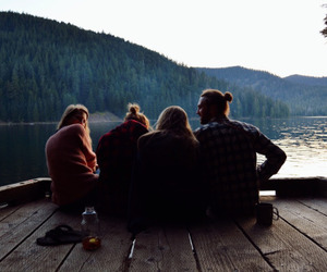 friends, travel, and nature image