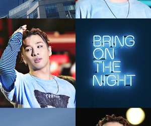 aesthetic, taeyang, and blue image