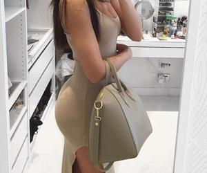 dress, purse, and baeluxury image