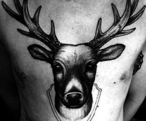 blanco, negro, and tatto image