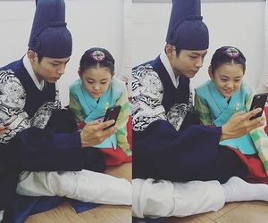 kdrama, park bo gum, and moonlight drawn by clouds image