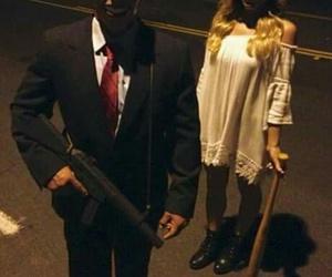 Halloween and the purge image