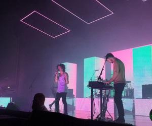band, grunge, and lights image