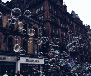 artsy, bubbles, and colors image