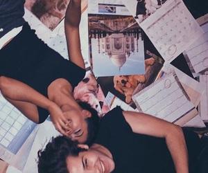 couple, cute, and liza koshy image