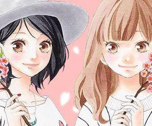 manga, yuna, and akari image