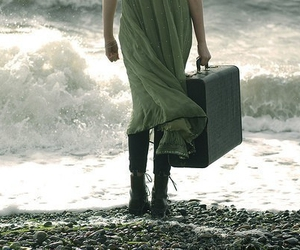 suitcase and ocean image