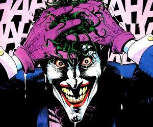 comic, joker, and guason image