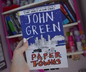 book, john green, and quality image