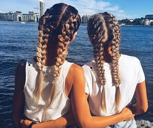 hair, friends, and style image