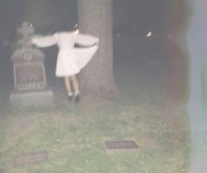 cemetery, girl, and alternative image