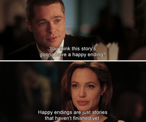 brad pitt, Angelina Jolie, and movie image