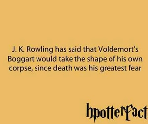 harry potter, voldemort, and harry potter facts image