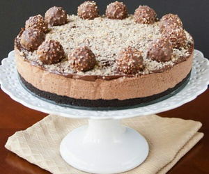 cheesecake, cake, and dessert image