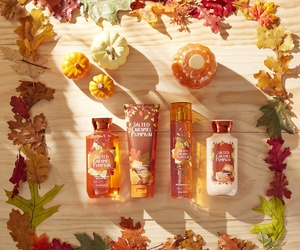 fall, leaves, and lotion image