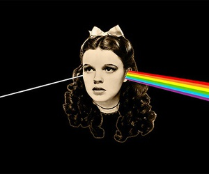 Pink Floyd, rainbow, and dorothy image